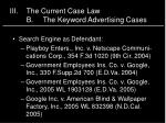 iii the current case law b the keyword advertising cases