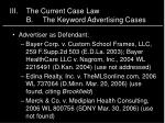 iii the current case law b the keyword advertising cases1
