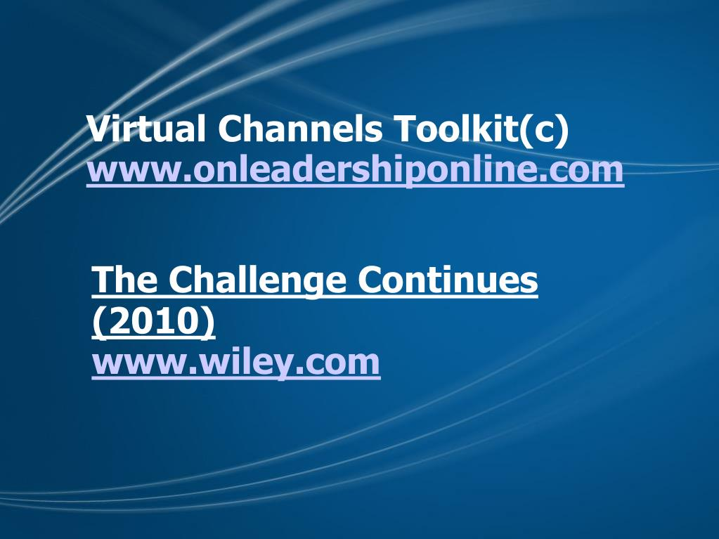 Virtual Channels Toolkit(c)