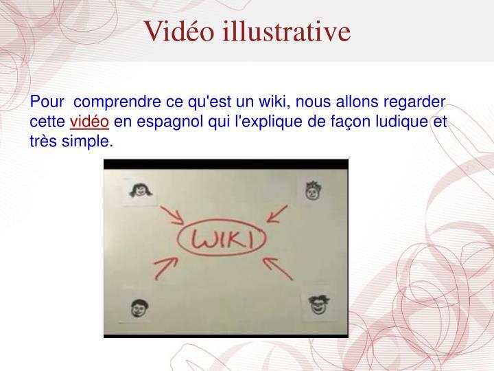 Vidéo illustrative