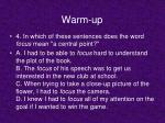 warm up3