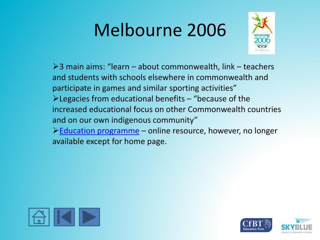 Melbourne 2006