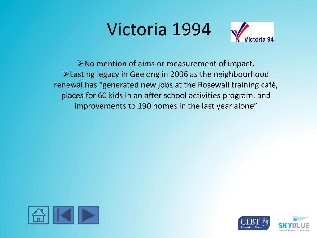 Victoria 1994