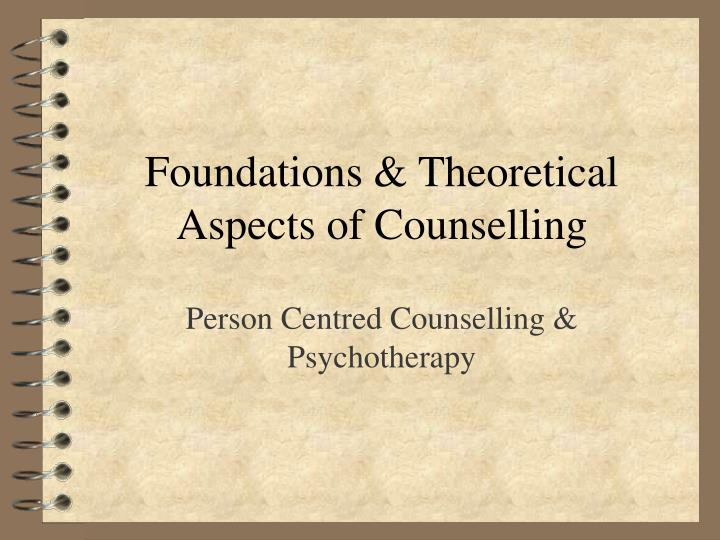 personal and professional aspects in counseling