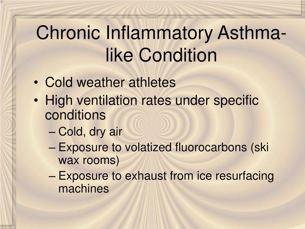 Chronic Inflammatory Asthma-like Condition