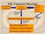 eib treatment algorithm