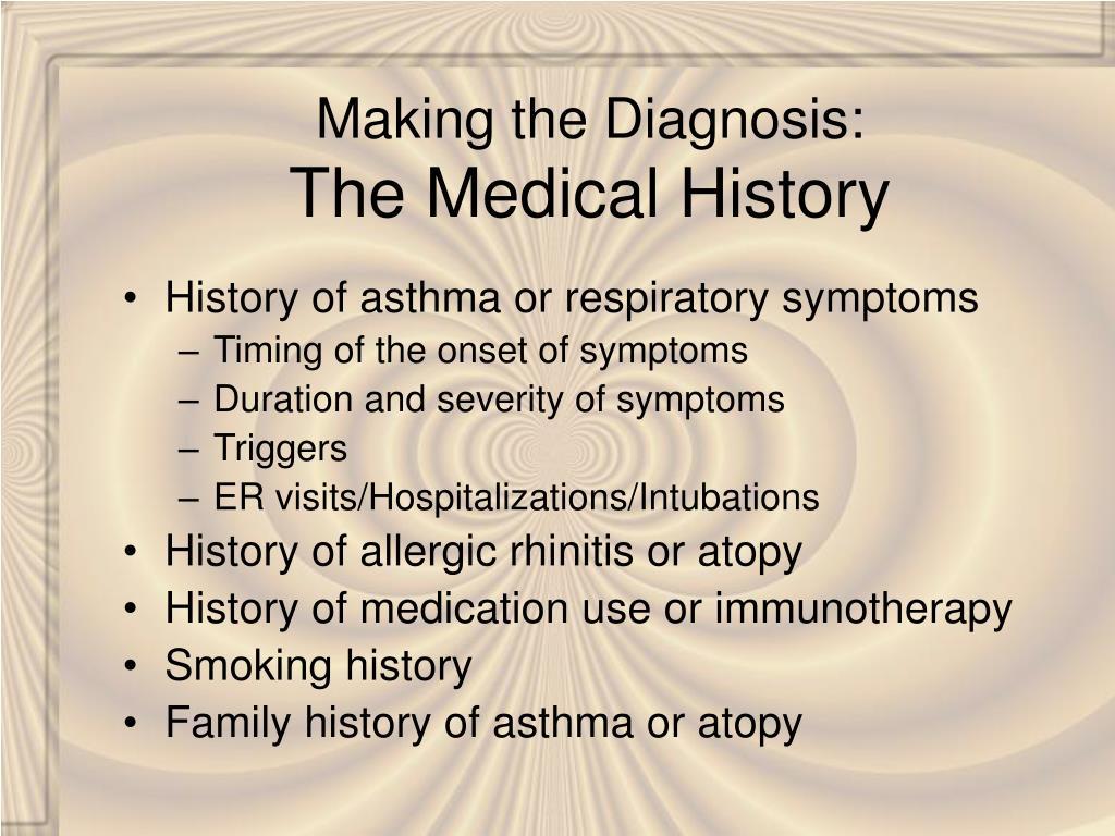 Making the Diagnosis: