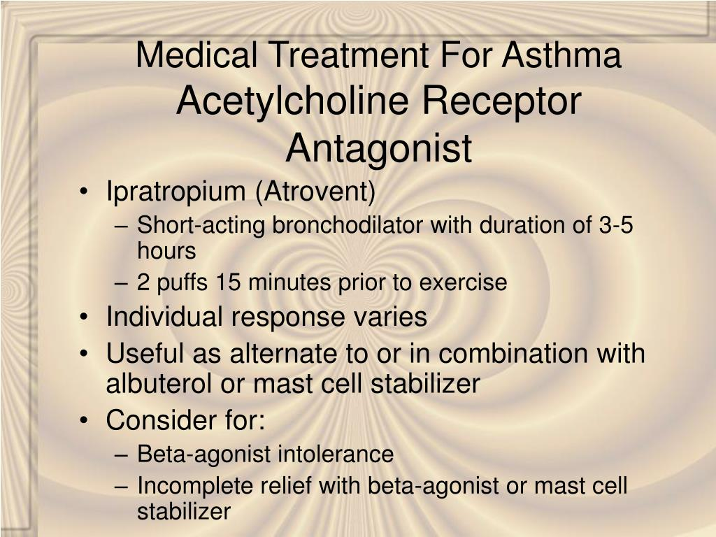 Medical Treatment For Asthma