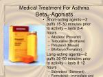 medical treatment for asthma beta 2 agonists35