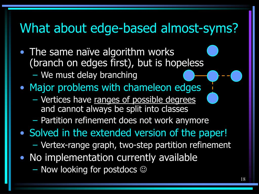 What about edge-based almost-syms?