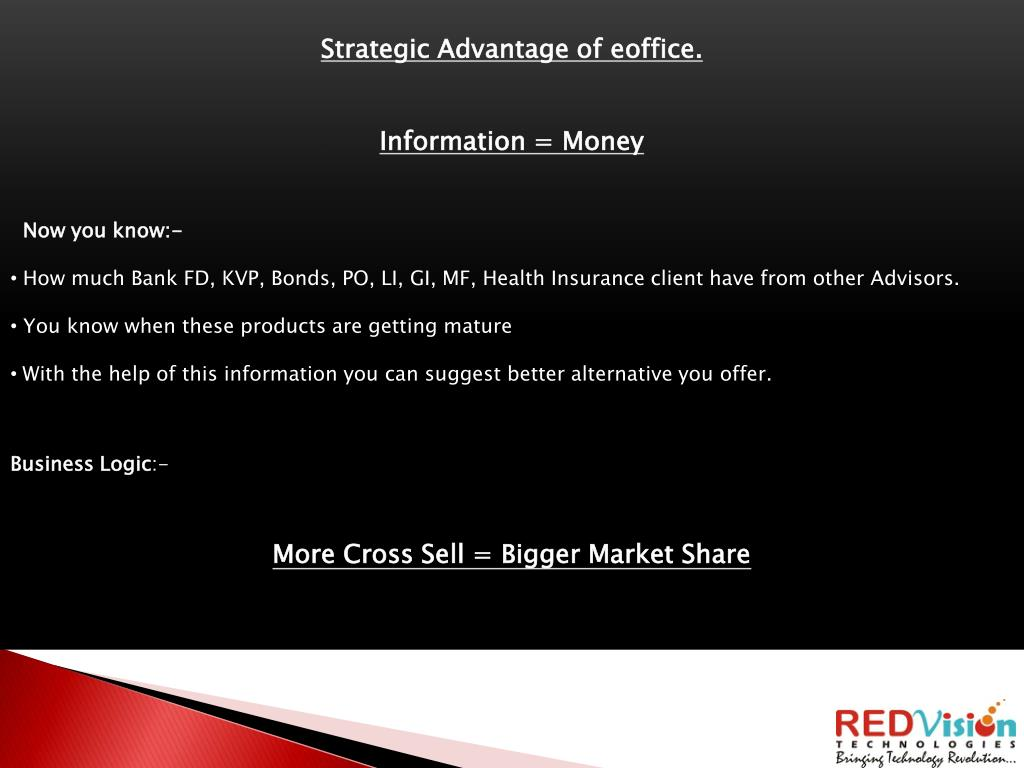 Strategic Advantage of