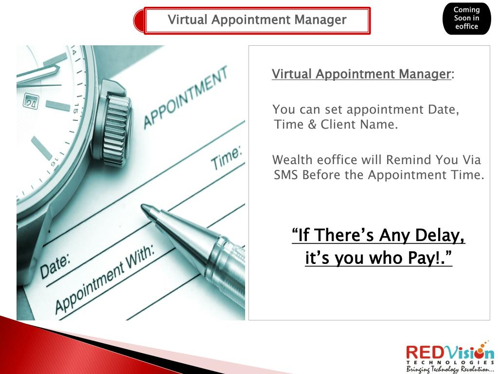 Virtual Appointment Manager