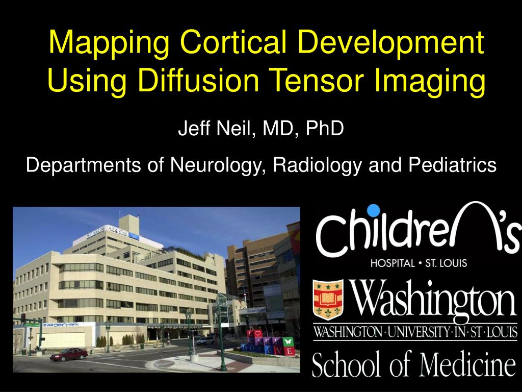 mapping cortical development using diffusion tensor imaging l.
