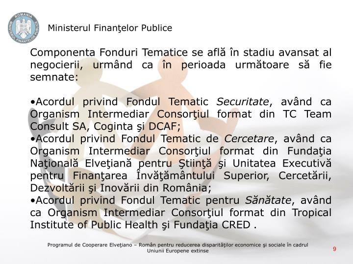 Ministerul Finanţelor Publice