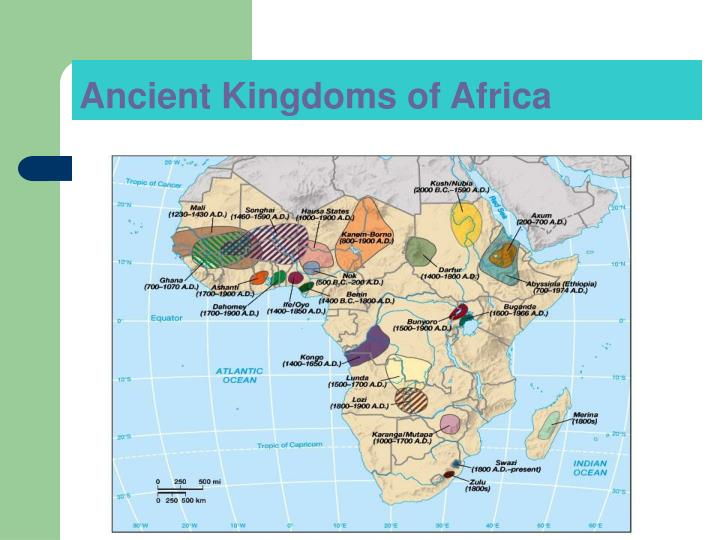 Ancient kingdoms of africa