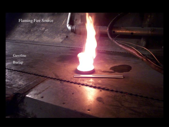 Flaming Fire Source