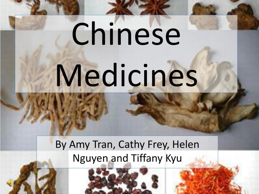 chinese medicines l.