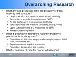 overarching research