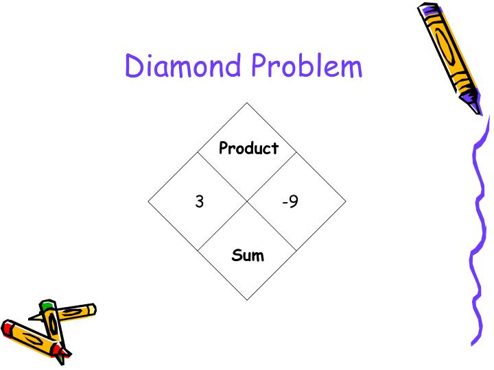 Diamond problem