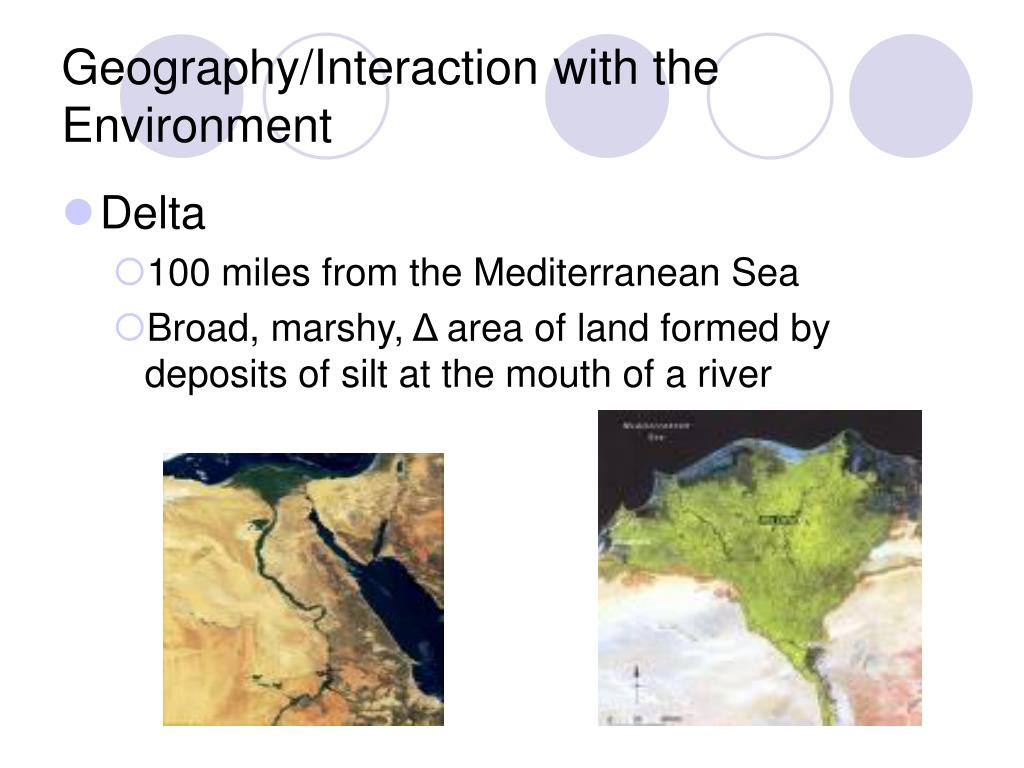 Geography/Interaction with the Environment