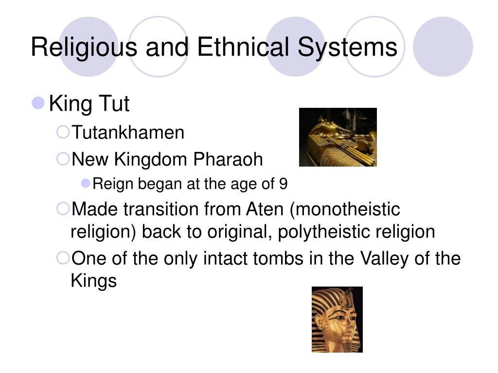 Religious and Ethnical Systems