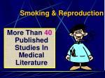 smoking reproduction