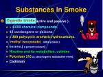 substances in smoke