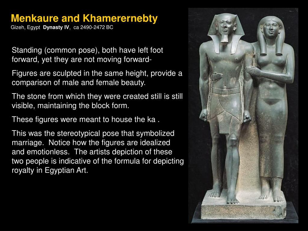 Menkaure and Khamerernebty