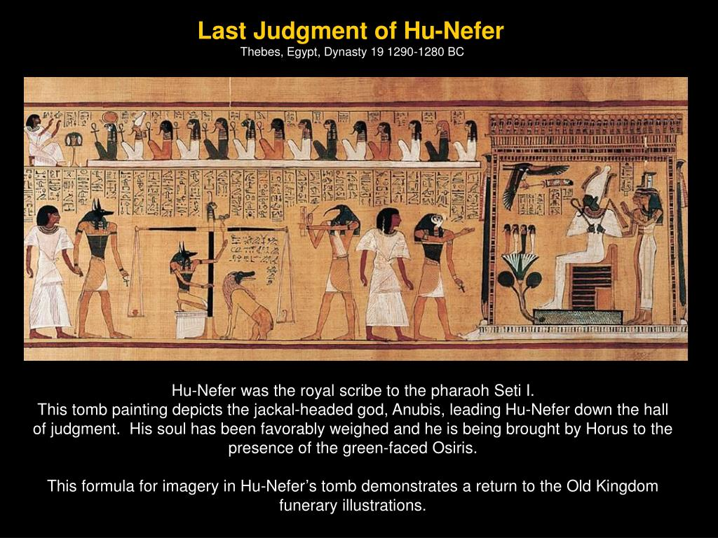 Last Judgment of Hu-Nefer