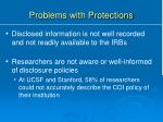 problems with protections1