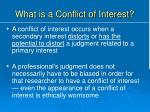 what is a conflict of interest4