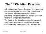 the 1 st christian passover7