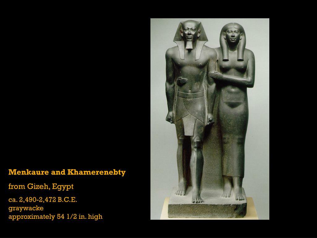 Menkaure and Khamerenebty