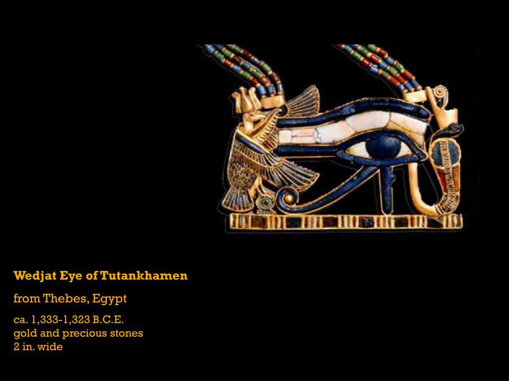 Wedjat Eye of Tutankhamen