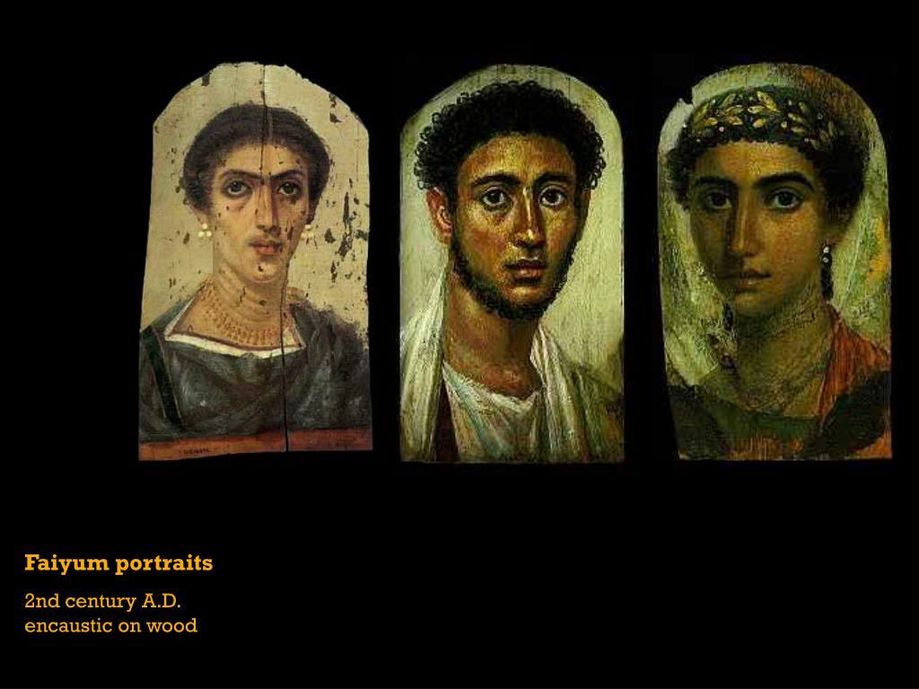 Faiyum portraits