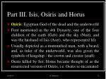 part iii isis osiris and horus12
