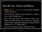part iii isis osiris and horus13