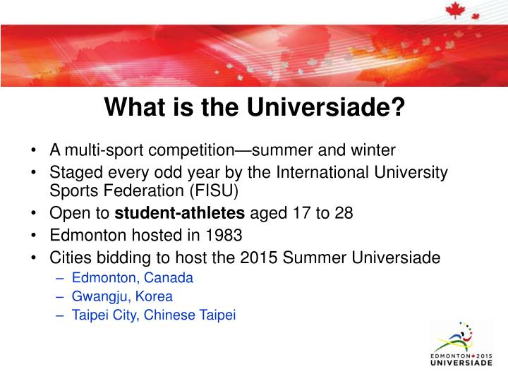 What is the universiade