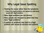 why legal issue spotting4