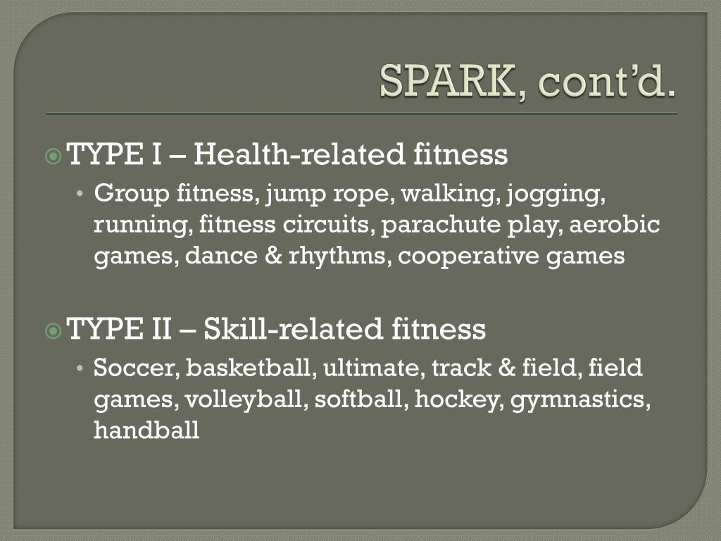 SPARK, cont'd.