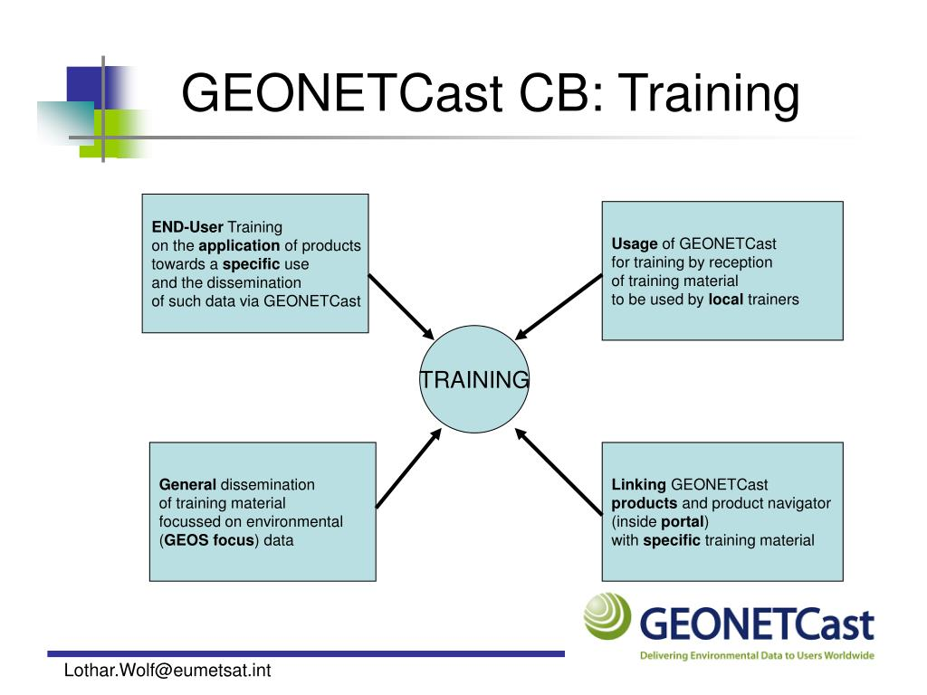 GEONETCast CB: Training
