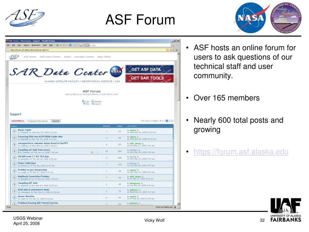 ASF Forum