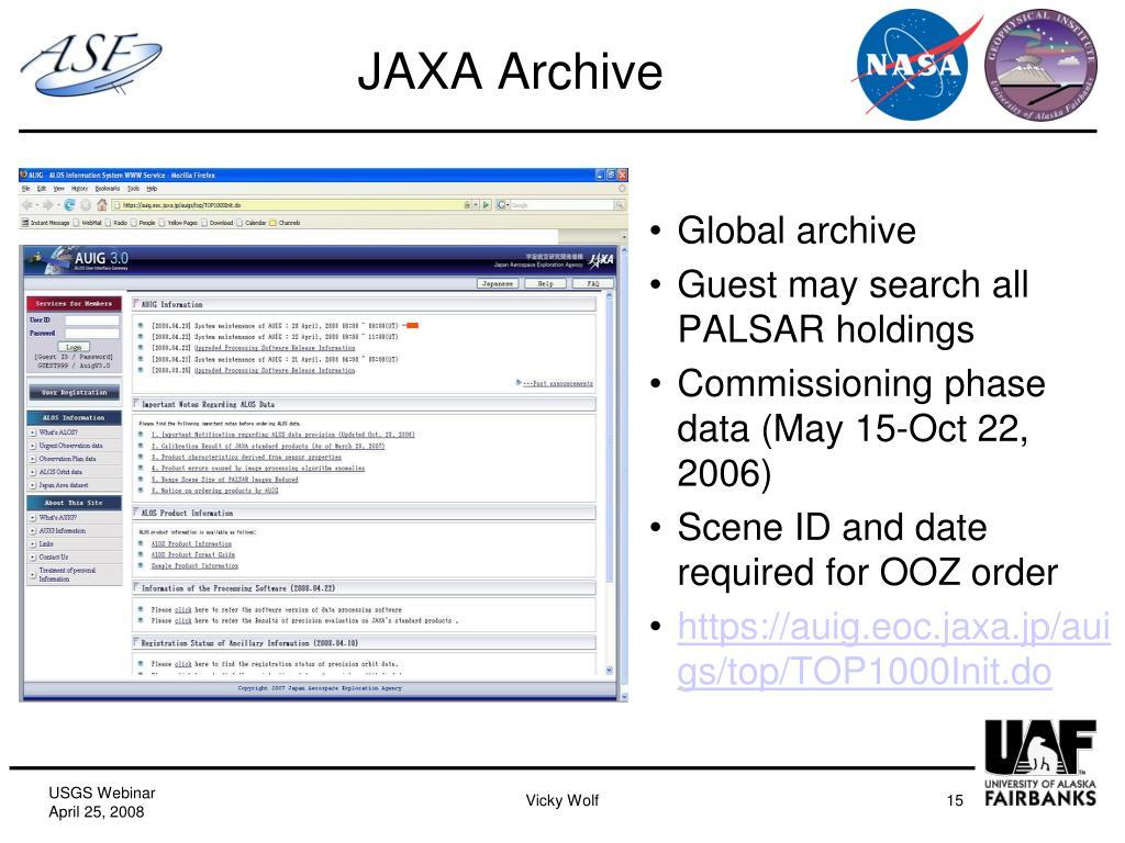 JAXA Archive