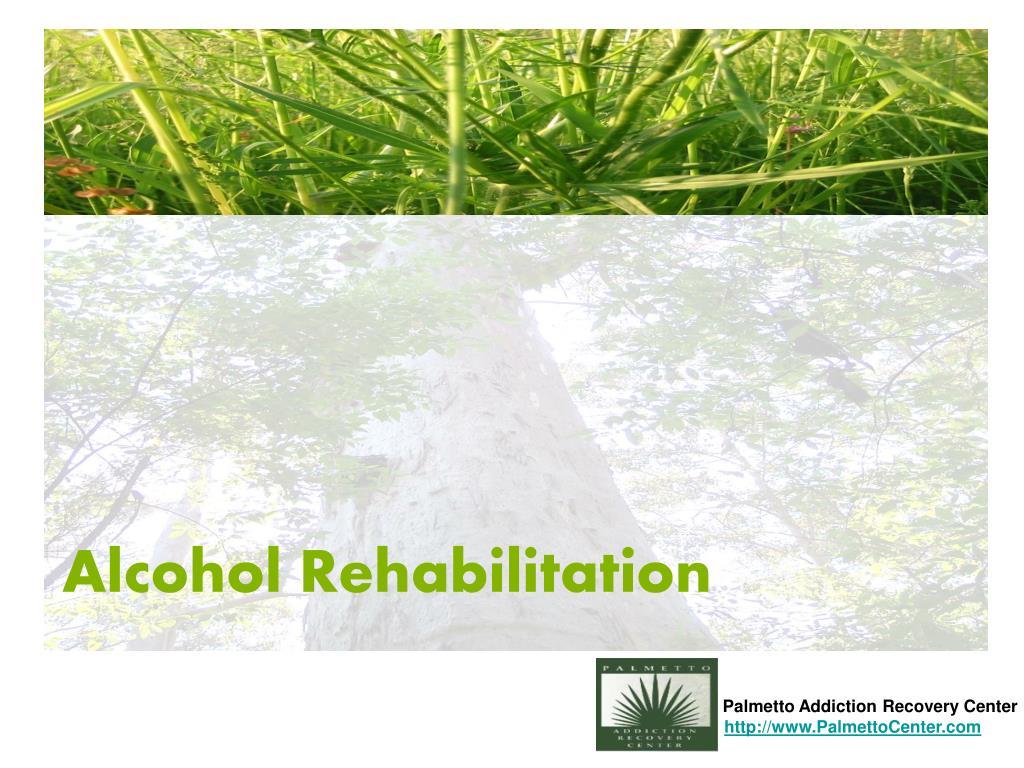alcohol rehabilitation