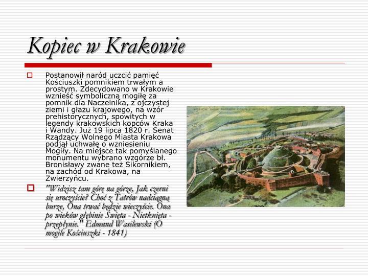 Kopiec w Krakowie