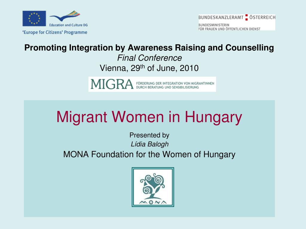 Promoting Integration by Awareness Raising and Counselling