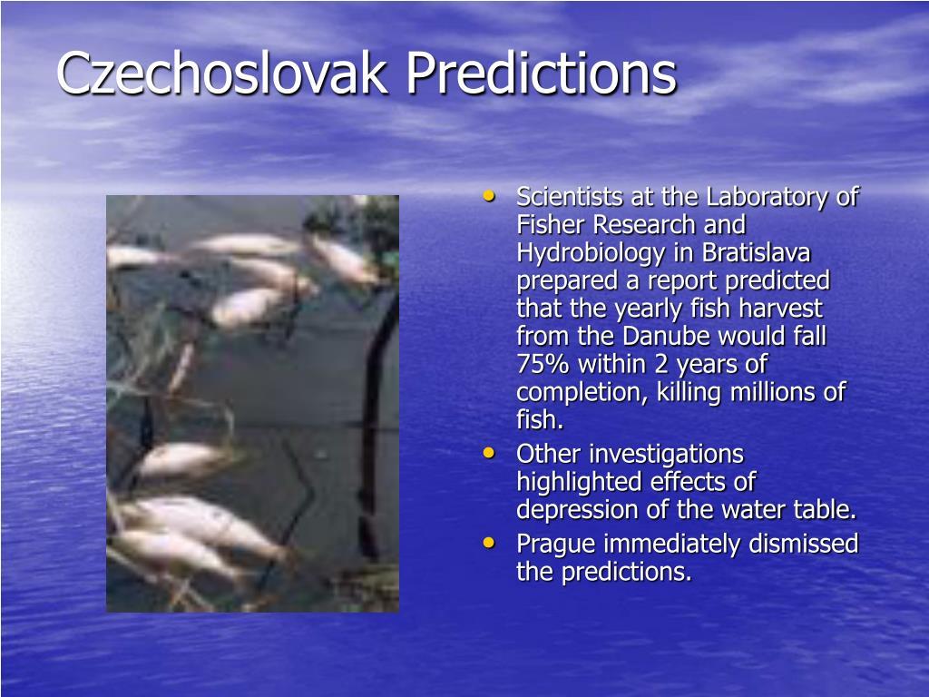 Czechoslovak Predictions