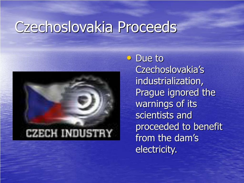 Czechoslovakia Proceeds
