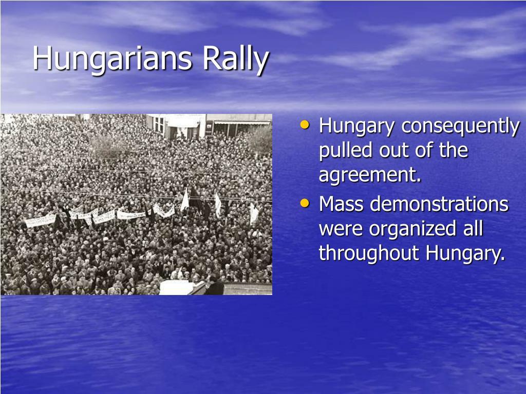 Hungarians Rally