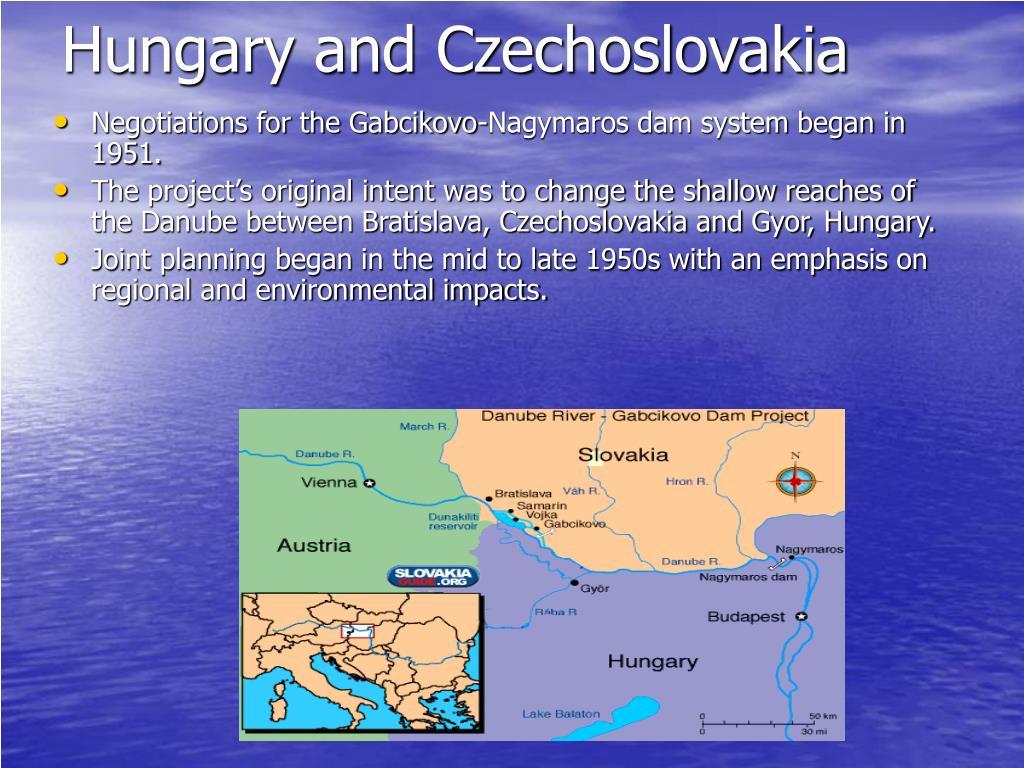 Hungary and Czechoslovakia
